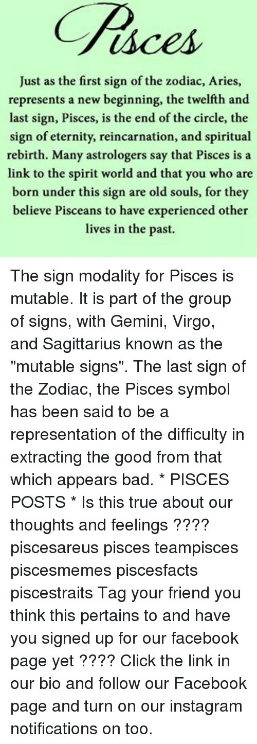 Just as the First Sign of the Zodiac Aries Represents a New