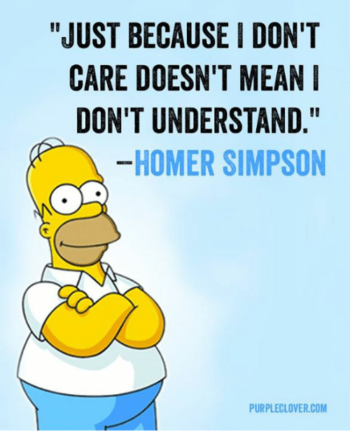 just because i dont care doesnt mean dont understand homer 6817817 just because i don't care doesn't mean don't understand homer