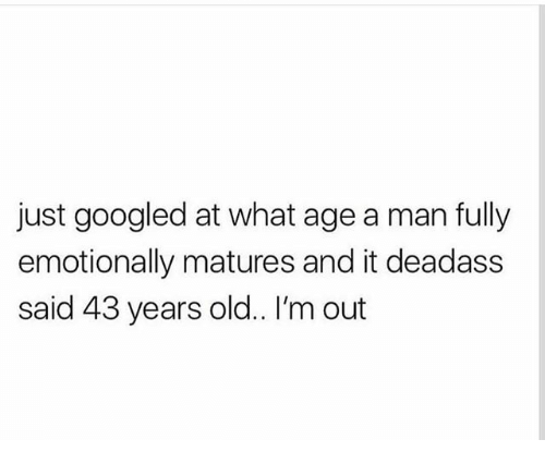At What Age Is A Man Considered Old