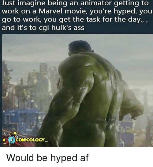Just Imagine Being an Animator Getting to Work on a Marvel