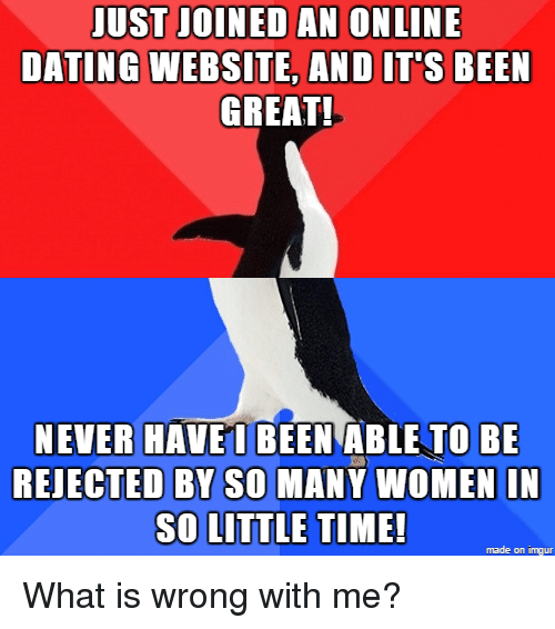 rejection online dating websites