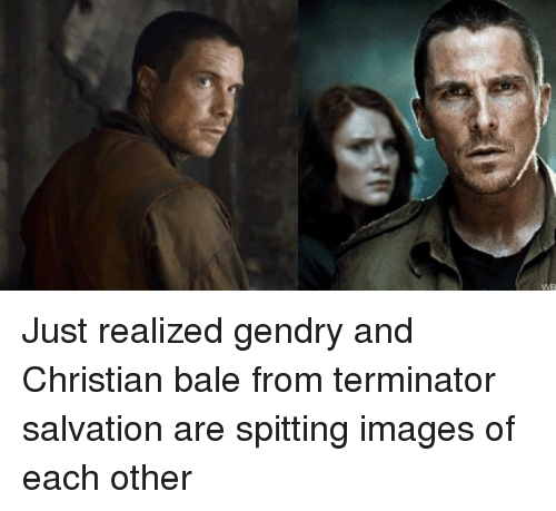 Christian Bale, Images, and Terminator