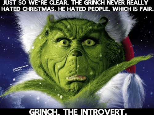 just so we re clear the grinch never really hated 29267669 just so we re clear the grinch never really hated christmas he