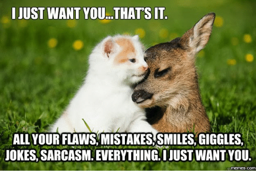 just want you thats it all your flaws mistakes smiles 17509920 ✅ 25 best memes about cheesy i love you cheesy i love you memes
