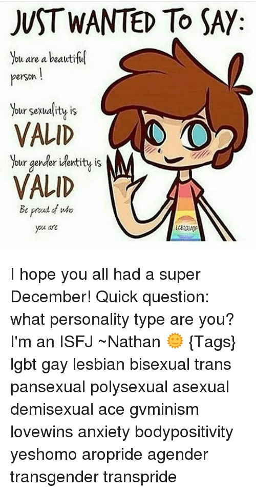 Asexual personality type