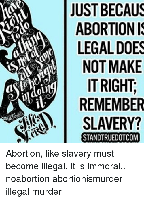 abortion is immoral