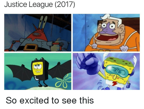 SpongeBob: Justice League (2017) So excited to see this