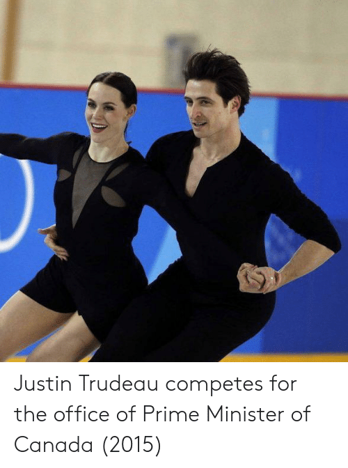 The Office, Canada, and Office: Justin Trudeau competes for the office of Prime Minister of Canada (2015)