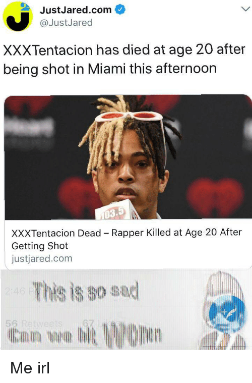 JustJaredcom XXXTentacion Has Died at Age 20 After Being