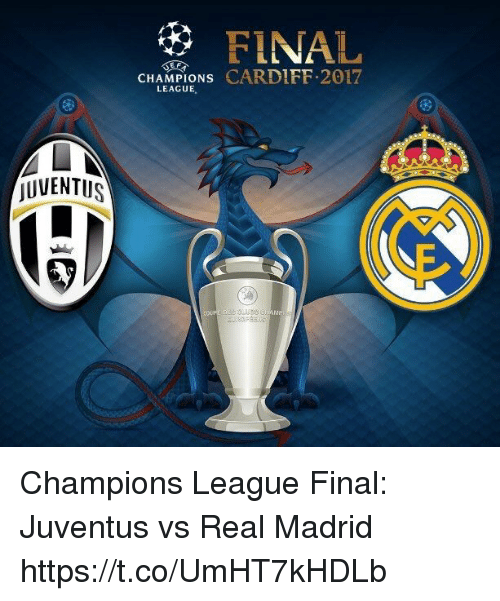 JUVENTUS FINAL CHAMPIONS CARDIFF 2017 LEAGUE Champions League Final ... cf8bb145df08f