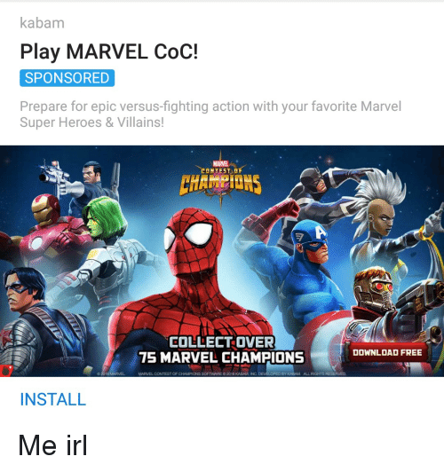 Kabam Play Marvel Coc Sponsored Prepare For Epic Versus Fighting