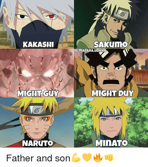 25+ Best Might Guy Naruto Memes