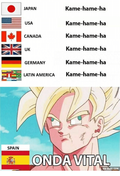 Usa Latin And America Kame Hame Ha JAPAN