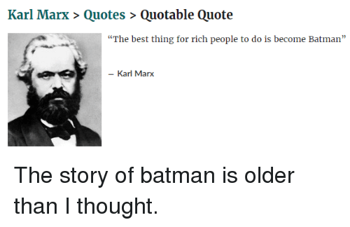 Karl Marx Quotes Quotable Quote The Best Thing For Rich People Custom Quotable Quotes