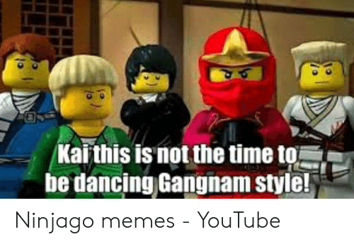 Karthis Is Not the Time to Be Dancing Gangnam Style! Ninjago