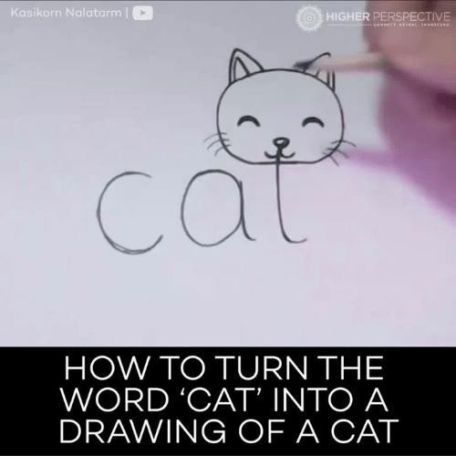 Kasikorn Nalatarm Co Higher Perspective How To Turn The Word Cat