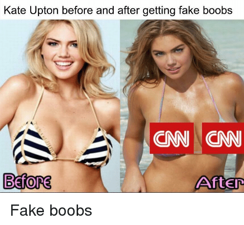 Fake boobs