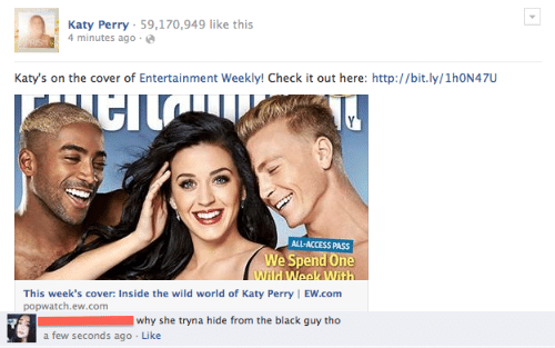 Katy Perry 59170949 Like This 4 Minutes Ago IS Katy's on the Cover