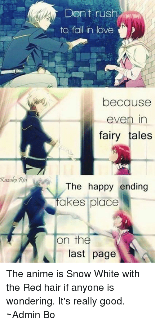 Kazuko Rin Don't Rush to Fall in Love Because Even in Fairy Tales