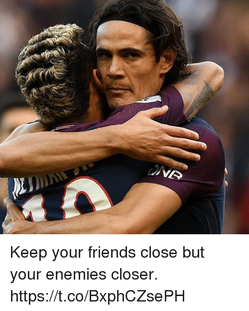 Friends, Memes, and Enemies: Keep your friends close but your enemies closer. https://t.co/BxphCZsePH