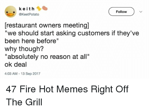 Asking For A Meeting