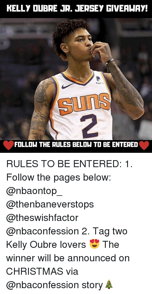 separation shoes 5af1d 29f33 KELLY OUBRE JR JERSEY GIVEAWAY Pay SunS 2 FOLLOW THE RULES ...