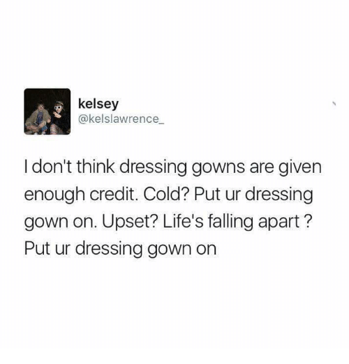 Image result for dressing gown memes