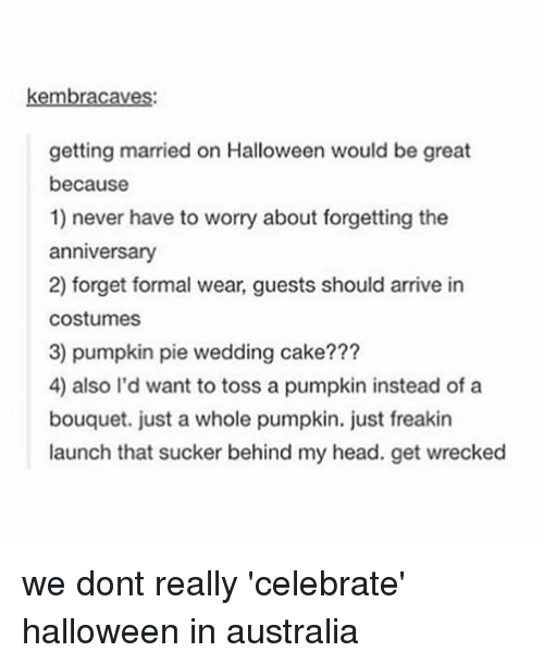 funny halloween and head kembracaves getting married on halloween would be great