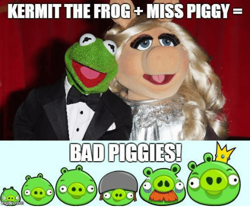 KERMIT THE FROG MISS PIGGY BADPIGGDES! | Kermit the Frog
