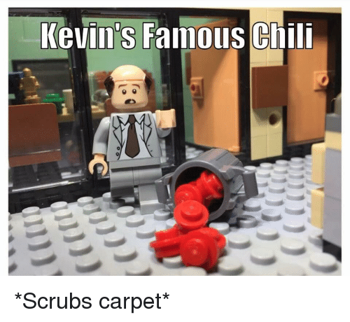 Scrubs, The Office, and Chili: Kevin's Famous Chili