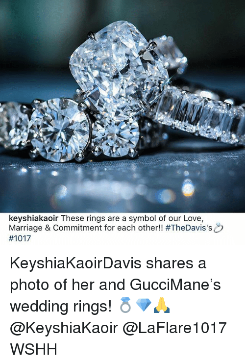 Keyshiakaoir These Rings Are A Symbol Of Our Love Marriage