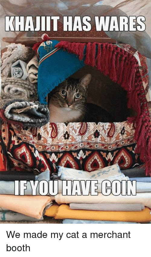 i have wares if you have coin