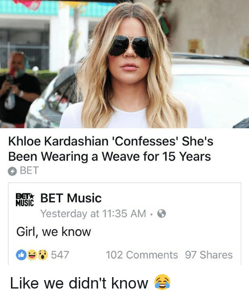 khloe girl know I that