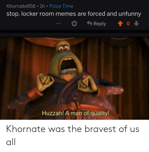 Khornate858 1h Pizza Time Stop Locker Room Memes Are Forced And