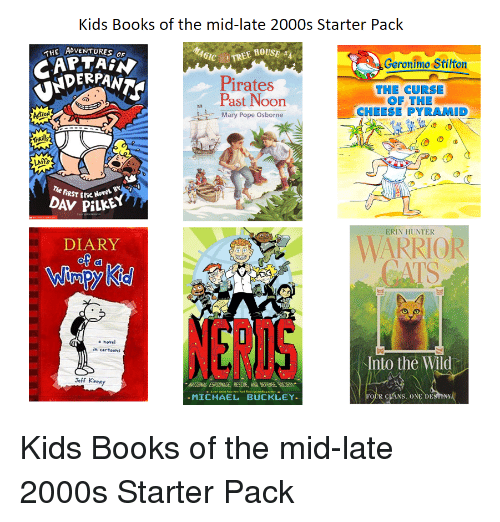 Kids Books Of The Mid Late 2000s Starter Pack The Adventuress Tree
