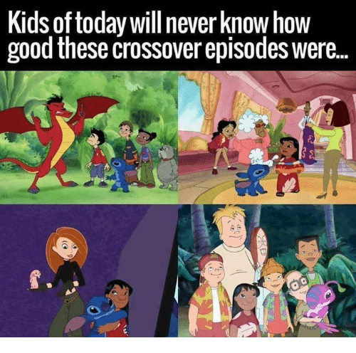 Memes, 🤖, and Crossover: Kids of today will never know how  good these crossover episodes were