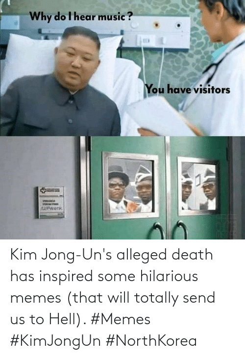 Memes, Death, and Hilarious: Kim Jong-Un's alleged death has inspired some hilarious memes (that will totally send us to Hell). #Memes #KimJongUn #NorthKorea
