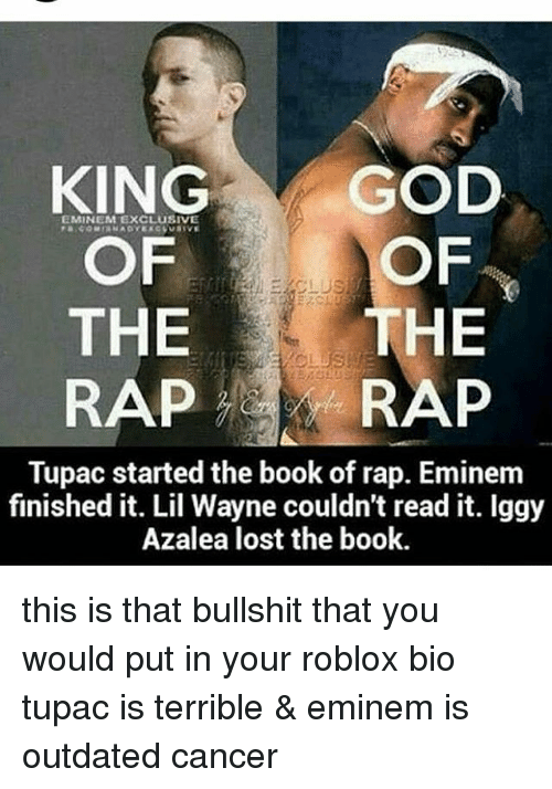 King God Eminem Exclusive Of Of The The Rap Rap Tupac Started The