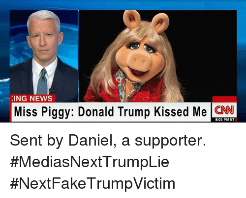 king news miss piggy donald trump kissed me cnn 8 02 4920174 ✅ 25 best memes about trump kissing trump kissing memes