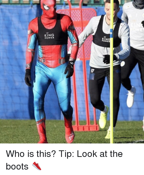 Memes, Boots, and Power: KING  POWER  KIN  POWER  7 Who is this? Tip: Look at the boots 👟