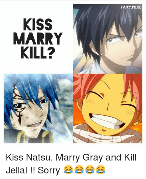 Fairy Tail Levy And Gajeel Kiss Funny Jellal Memes of ...
