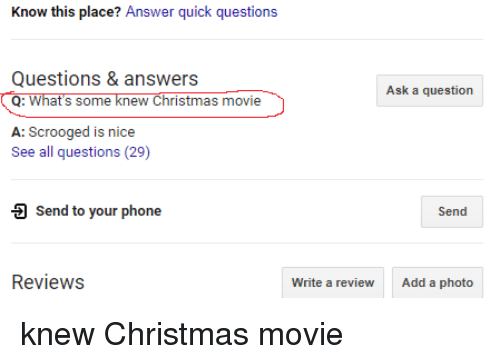 Christmas Questions To Ask.Know This Place Answer Quick Questions Questions Answers