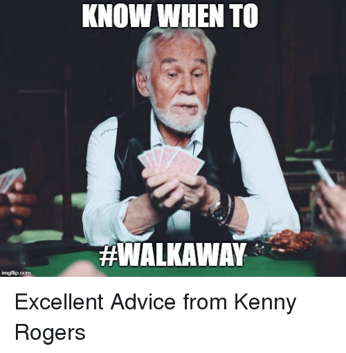 KNOW WHEN TO | Advice Meme on ME ME