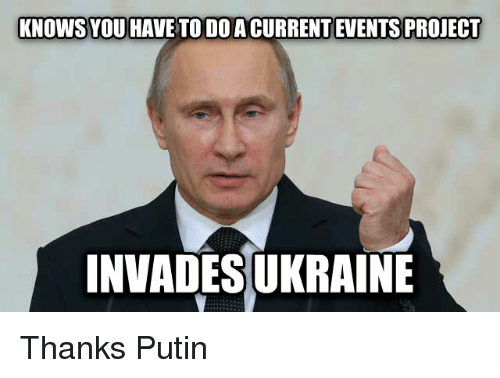 Funny Memes About Current Events : ✅ best memes about putin putin memes