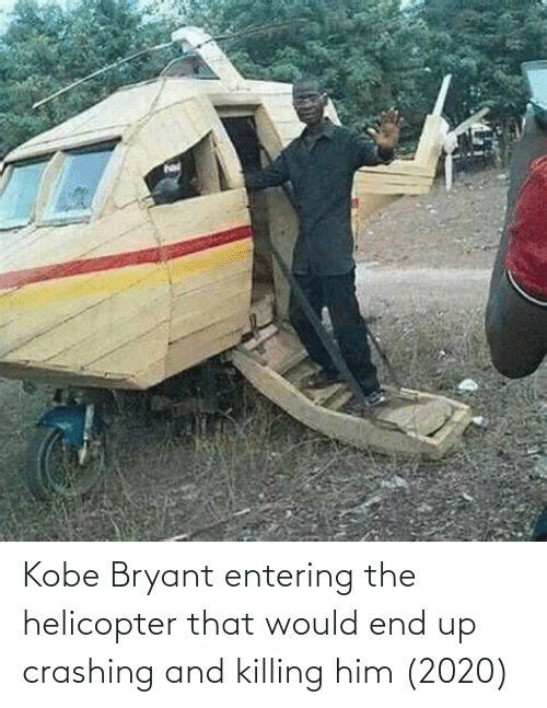 Kobe Bryant Entering The Helicopter That Would End Up Crashing And