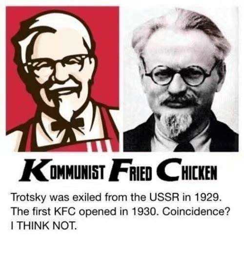 Kommunist Hcken Trotsky Was Exiled From The Ussr In 1929 The First