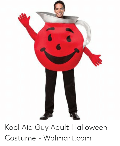 Walmart Employee Halloween Costume.Kool Aid Guy Adult Halloween Costume Walmartcom Halloween Meme