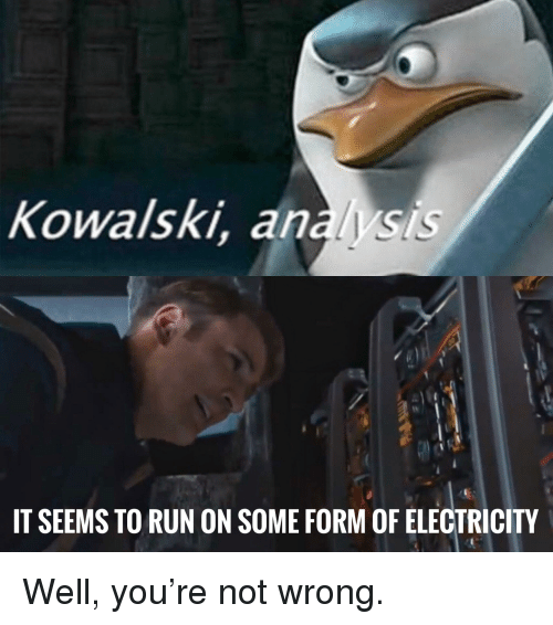 Marvel Comics Run And Electricity Kowalski Ys It Seems To On