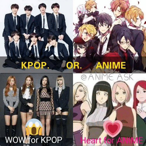 kpop oranime wowlfor kpop heart for anime 47382018