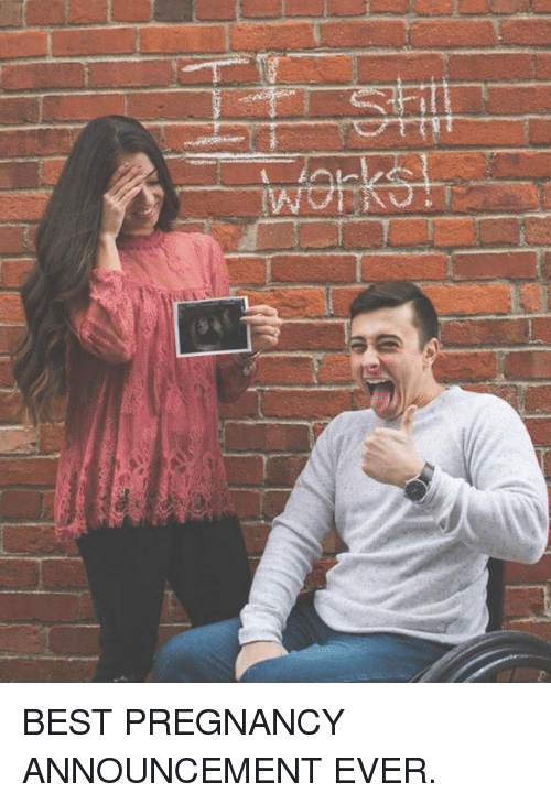 Funny Pregnancy Announcement Memes of 2017 on meme – Photo Booth Baby Announcement